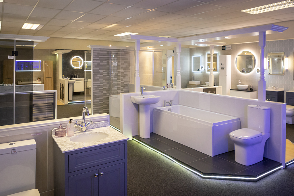 Beamans Bathrooms Showroom